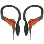 PANASONIC HS-33 Stereo Headphones Orange New