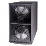 "JBL ASB6128V Dual 18"" High-Power Ext Resp Subwoofer New"