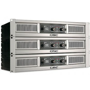 QSC GX5 2 Channels 500 watts/ch @ 8 ohms, 700 watts/ch @ 4 ohms