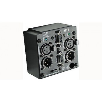 QSC DSP4 2 Channel digital signal processor with  XLR in/out connectors
