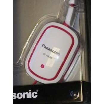PANASONIC K-SLIMZ Lightweight On Ear Monitors White New