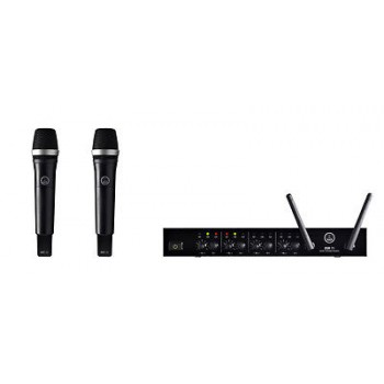 AKG DMS70Q 4 Channel Digital Wireless Set w/ 2 x D5 Microphones Included