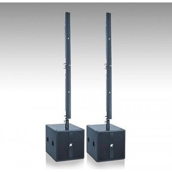 SENNHEISER KR402 High Tech Ultra-light Powered Line Array (Pair) 138db USB New