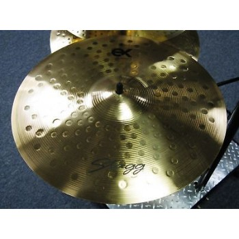 "STAGG EX-SM15B  15"" EX Medium Crash Cymbal New"