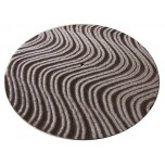 DJ Turntable Slipmats Chestnut Velvet Swirl Pair New