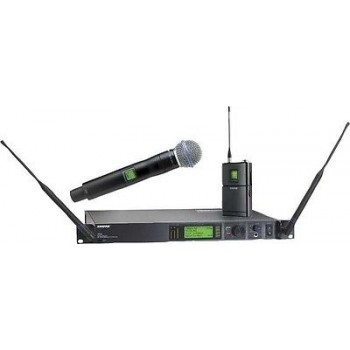 SHURE UR124S+/BETA58-H4 Handheld Wireless Microphone System w/Cascade New