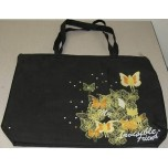 Kleome Tote Bag (Black) (New)