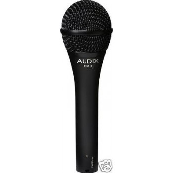 AUDIX OM3S Dynamic Hypercadioid Microphone w/Switch New