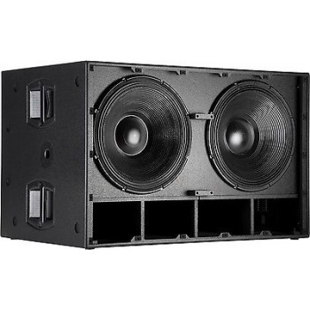 "RCF SUB8006AS Dual 18"" 5000W Subwoofer Limiter Crossover EQ New"