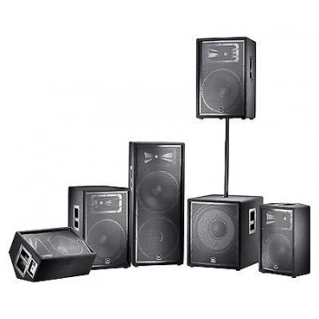 JBL JRX215 JRX-215 15 Inch Two-Way Multi-Angle Floor Monitor / Loudspeaker New