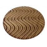 DJ Turntable Slipmats Camel Velvet Swirl Pair New