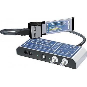 RME Audio HDSPe MADIface 24 Bit / 192 kHz 128 Channel MADI Express Card