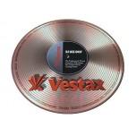 DJ Turntable Slipmat Vestax Neoprene Gold Record Single