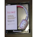 PANASONIC K-SLIMZ Lightweight On Ear Monitors White New
