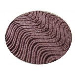 DJ Turntable Slipmats Brick Velvet Swirl Pair New
