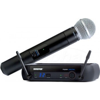 SHURE PGXD24/SM58-X8 Digital Wireless System w/ SM58 Handheld Microphone New