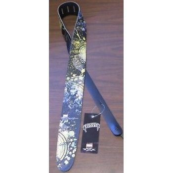 Perri's Leather Guitar Strap w/ Graphics Model 2523 New