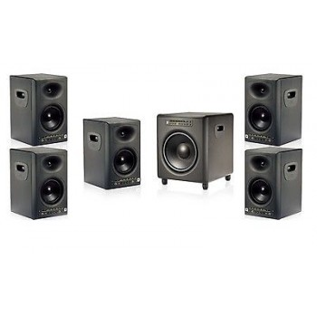 JBL LSR4326P5.1 LSR4300 Series Surround Sound Package 5 Monitors 1 Subwoofer New