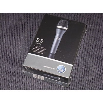 AKG D5  Supercardioid Handheld Dynamic Microphone New