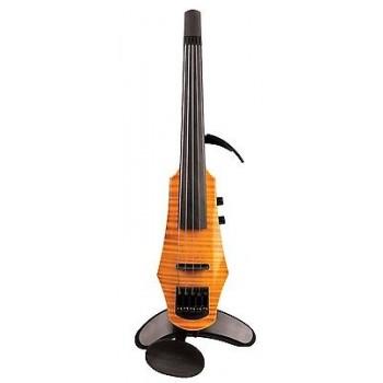 NS Design - CR5-ACR 5-String Electric Violin Adjustable Chin Rest CSR Amber New