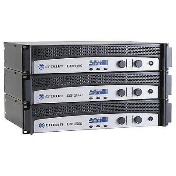 Crown CDI 4000 Stereo/Bridged Power Amplifier New