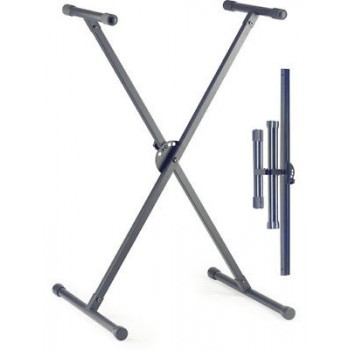 STAGG KXSA35 Single Tier Collapsible Keyboard Stand New