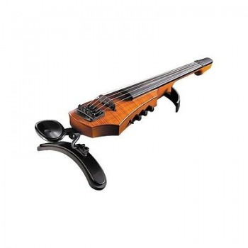 NS Design - CR5 5-String Fretted Electric Violin Active Polar Pickup CSR Amber
