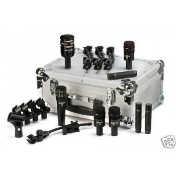 AUDIX DP-ELITE-8 8 Microphone Dynamic Drum Pack New