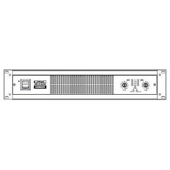 QSC CX602v 2 Channels 550 watts/ch @ 8 Ohms, 440 watts/ch @ 70V