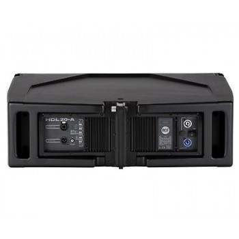 "RCF HDL20-A Dual 10"" 1400W Digital Bi-Amplified Two-Way Active Array Speaker New"