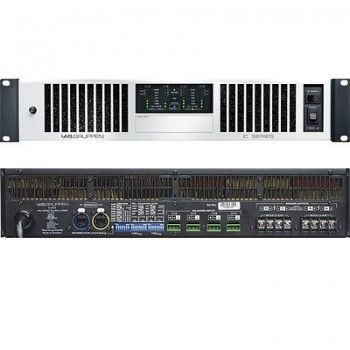 Lab Gruppen C68:4, 4 Chaannel Installation Amplifier, 70/100v Selectability