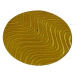 DJ Turntable Slipmats Gold Velvet Swirl Pair New