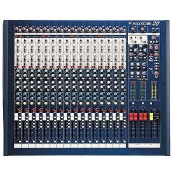 Soundcraft LX7ii 16 Channel Console w/GB30 Preamps New