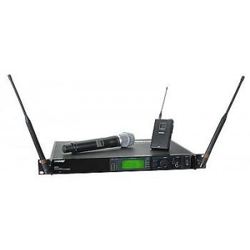 SHURE UR124S+/SM86-X1 Handheld Wireless Microphone System w/Cascade New