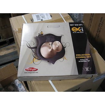 "STAGG EXD Bronze Cymbal Set 18"" & 14"" Hi Hat Set New"