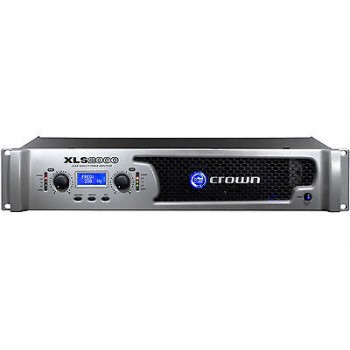 Crown XLS2000 Drivecore Stereo Bridged Power Amplifier