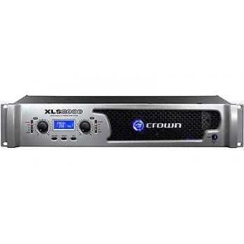 Crown XLS2000 Drivecore Stereo Bridged Power Amplifier