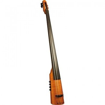 NS Design - CR5T Bass 5-String Electric Upright Double Bass Traditional Amber