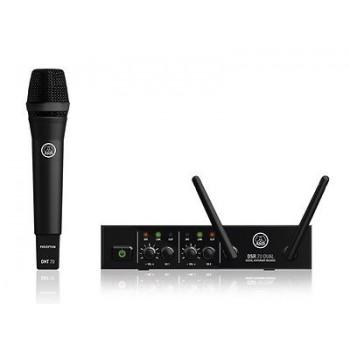 AKG DMS70D 2 Channel Digital Wireless Set w/ 1 x D5 Microphones Included
