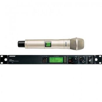 SHURE UR24S+/KSM9/SL-J5 Handheld Wireless Microphone System w/Cascade New