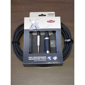 STAGG 20ft Neutrik CONVERTCON Unisex 1/4-XLR Cable New