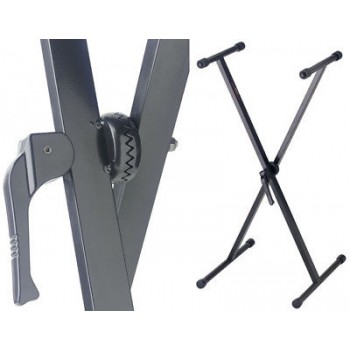 STAGG KXS-A7 Single Tier Keyboard Stand Locking Jaw New