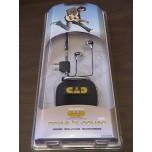CAD NB1 Noise Blocking/Isolating Studio Earphones New