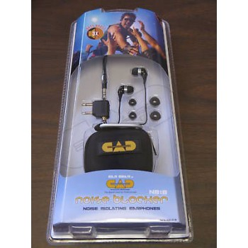 CAD NB1B Noise Blocking/Isolating Studio Earphones New