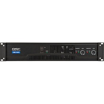 QSC CMX300Va Contractor Power Amp. 2 Channels, 200 watts/ch @ 8 ohms