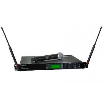 SHURE UR24S+/SM86-G1 Handheld Wireless Microphone System w/Cascade New
