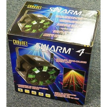 CHAUVET Swarm 4 Quad Effect LED Light 8 Lenses RGBA Auto & DMX New