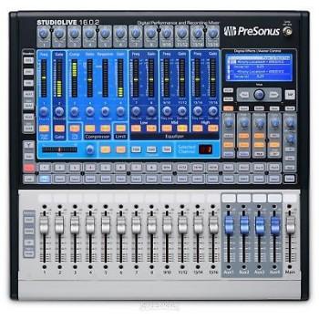 PRESONUS StudioLive 16.0.2 - 16 Channel Digital Mixer
