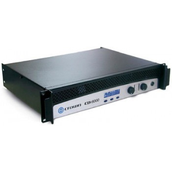 Crown CDI 6000 Stereo/Bridged Power Amplifier New
