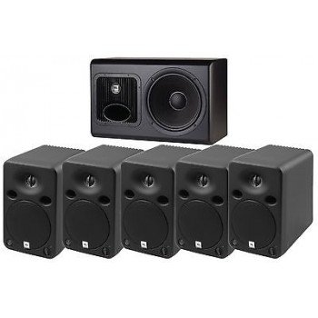 JBL LSR-6328P LSR6328P5.1 LSR6300 Surround Sound Pack 5 Monitors 1 Subwoofer New